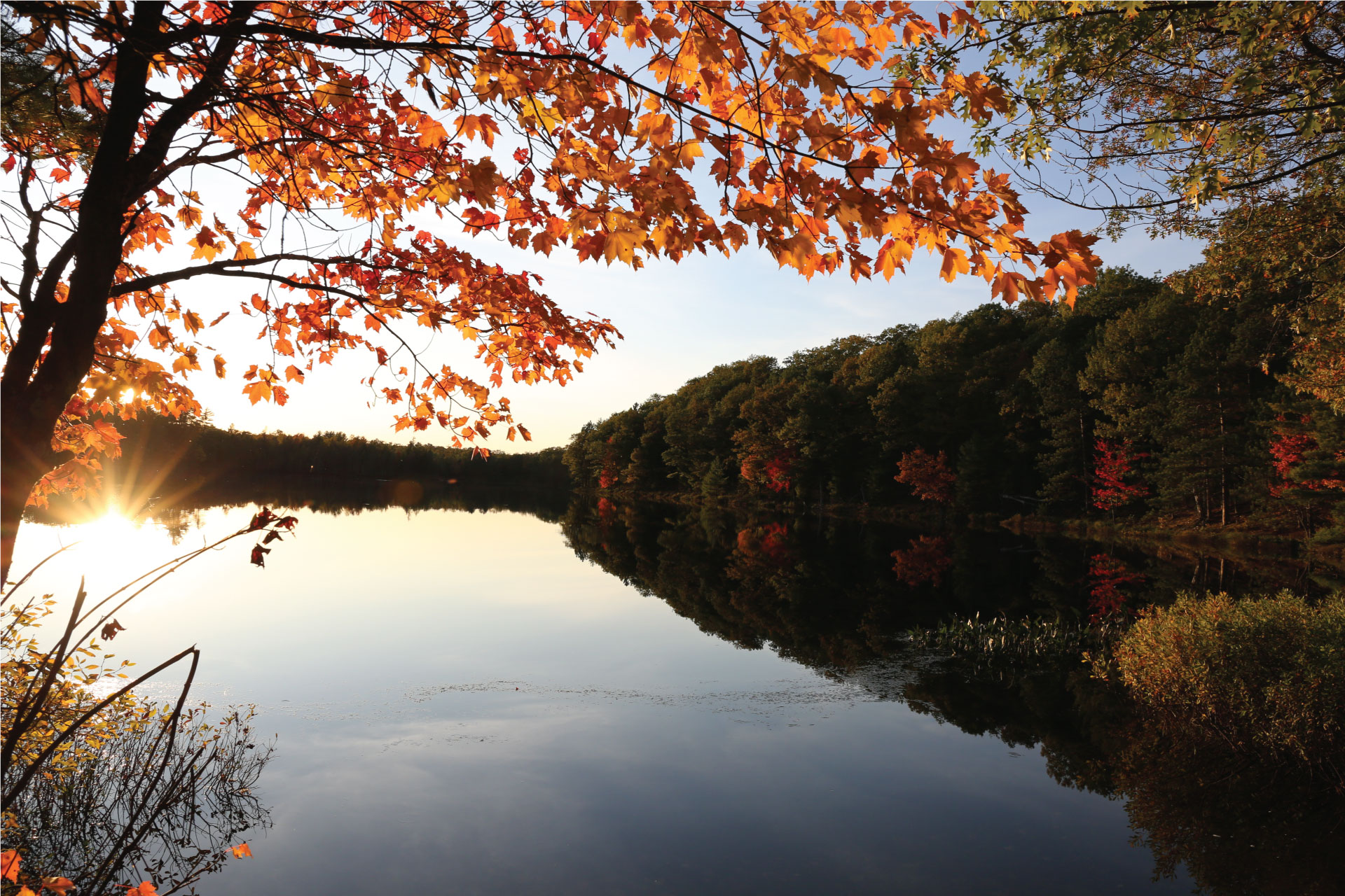 Win a fall getaway to the Northwoods!
